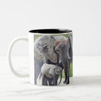 MOTHER LOVE Two-Tone COFFEE MUG
