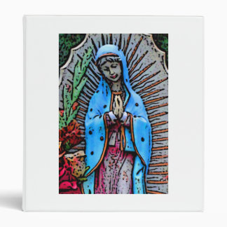 Mother Mary 3 Ring Binder