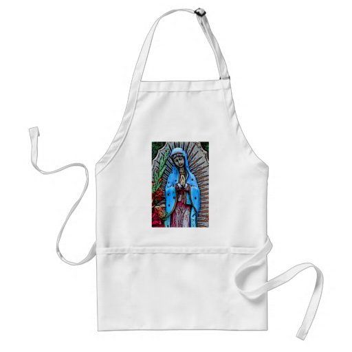 Mother Mary Adult Apron