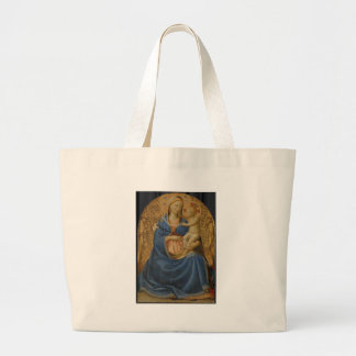 Mother Mary and baby Jesus Jumbo Tote Bag