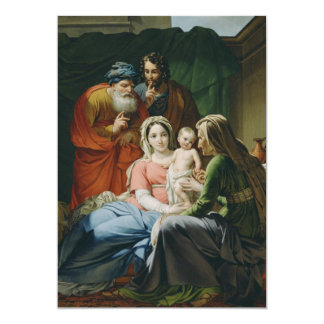 Mother Mary and Baby Jesus Card