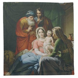 Mother Mary and Baby Jesus Cloth Napkin