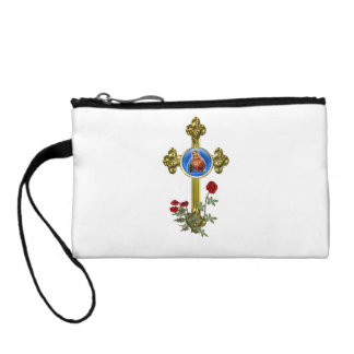 Mother Mary art products Change Purses