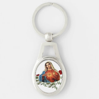 Mother Mary art products Keychain