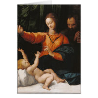 Mother Mary baby Jesus Greeting Cards