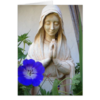 Mother Mary card