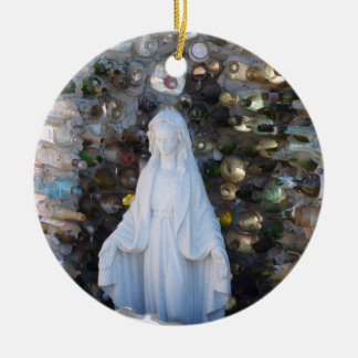 Mother Mary Ceramic Ornament