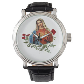 Mother Mary designs Wrist Watch