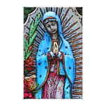 Mother Mary Gallery Wrapped Canvas
