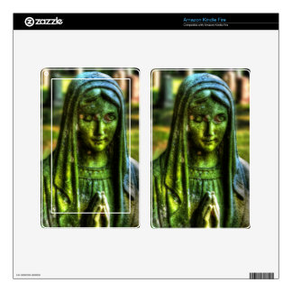 Mother Mary HDR Skin For Kindle Fire