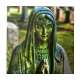 Mother Mary HDR Tiles