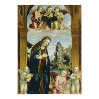 Mother Mary 5x7 Paper Invitation Card