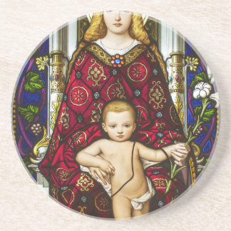 Mother Mary.jpg Drink Coasters