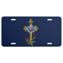 Mother Mary licence plate
