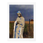 Mother Mary Personalized Announcements