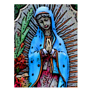 Mother Mary Postcard