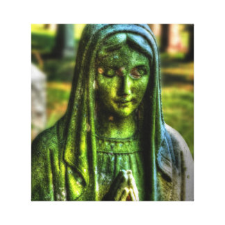 Mother Mary Wrapped Canvas Stretched Canvas Prints