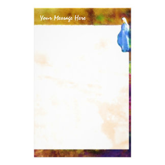 Mother Mary's Garden stationery