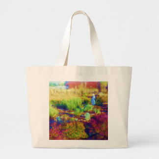 Mother Mary's Garden tote bag