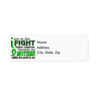 Mother Means The World To Me Lymphoma Label