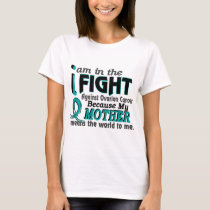 Mother Means World To Me Ovarian Cancer T-Shirt