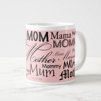 Mother Mom Mum Mama Jumbo Mug 20 Oz Large Ceramic Coffee Mug