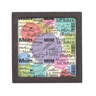 Mother Mom Mum Mama Mommy Jewelry Box