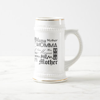 Mother Mom Mum Mama Mommy 18 Oz Beer Stein