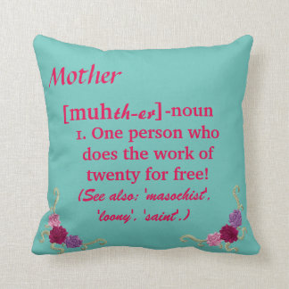 Mother/Mom Pillow Pastels