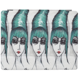Mother Monster Original Art Drawing iPad Cover