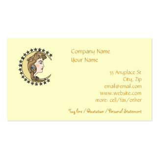 Mother Moon Sisterhood Business Card