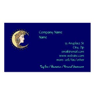 Mother Moon Sisterhood business cards templates