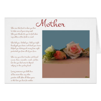Mother Mother's Day Card