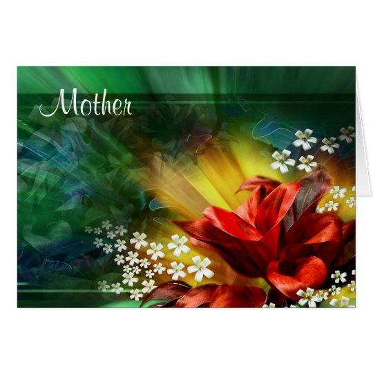 Mother - Mothers Day Greeting Card