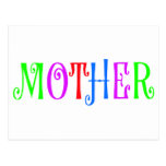 Mother Multi Colored Postcards