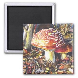 """Mother Mushroom"" Magnet"