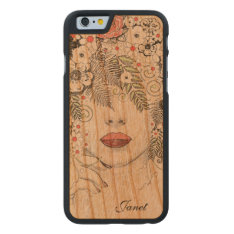 Mother Nature Abstract Wooden Iphone 6 Case at Zazzle