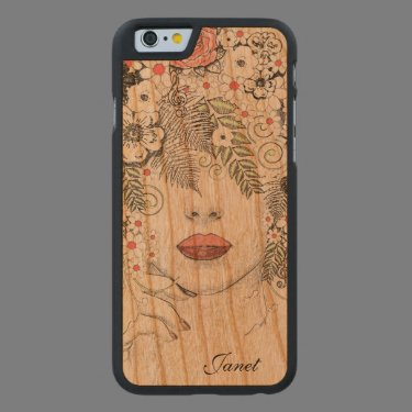 Mother Nature Abstract Wooden iPhone 6 Case Carved® Cherry iPhone 6 Slim Case