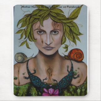 Mother Nature aka Lavina, Mother Nature By Leah... Mouse Pad