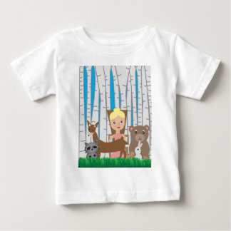 Mother Nature and Animal Friends Baby T-Shirt