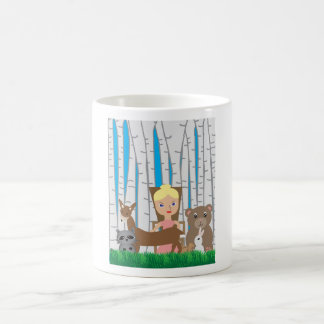 Mother Nature and Animal Friends Coffee Mug