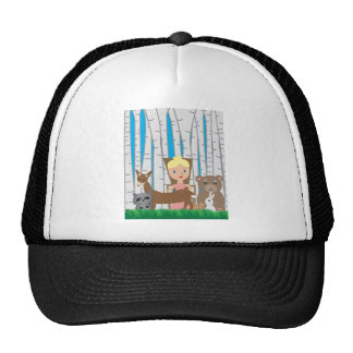 Mother Nature and Animal Friends Trucker Hat