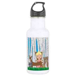 Mother Nature and Animal Friends Water Bottle