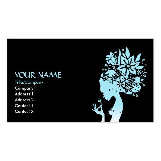 mother nature business card templates