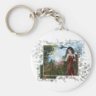 Mother Nature Fantasy Designs Keychain