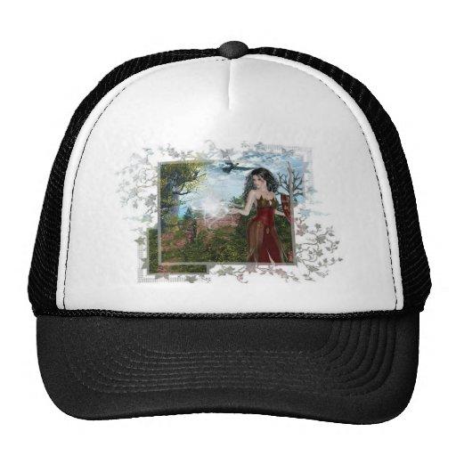 Mother Nature Fantasy Designs Mesh Hats