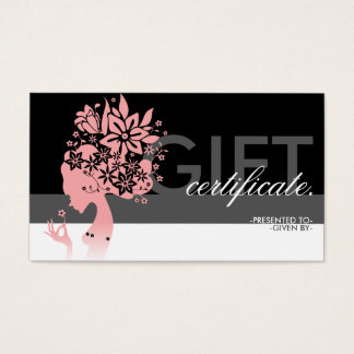 mother nature gift certificate
