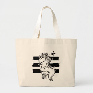 Mother Nature-ish Jumbo Tote Bags