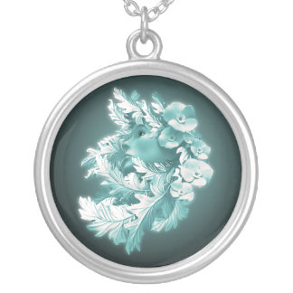 Mother Nature Round Necklace by Gahr Graphics