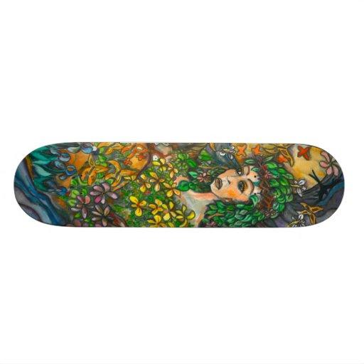 Mother Nature skateboard by Thompson Kellett
